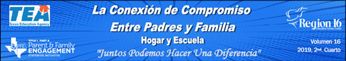 The Parent & Family Connection Newsletter in Espanol