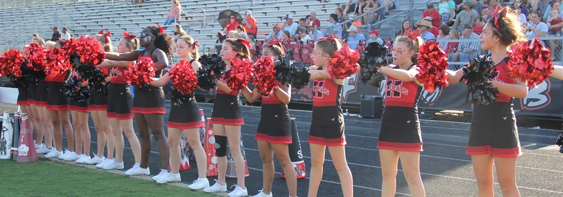 KJH Cheerleaders