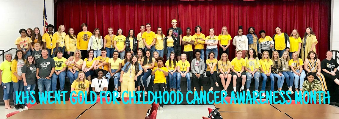 GO GOLD FOR CHILDHOOD CANCER