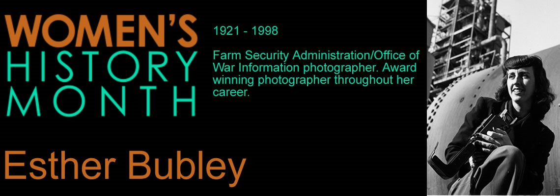 Women's History Month - Esther Bubley