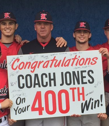 Coach Jones Hits 400th Career Win.