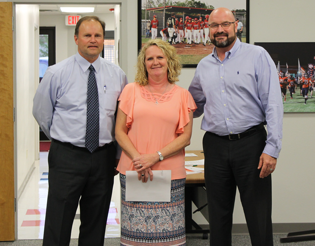 Jessica Biscamp High School Employee of the Month April 2018