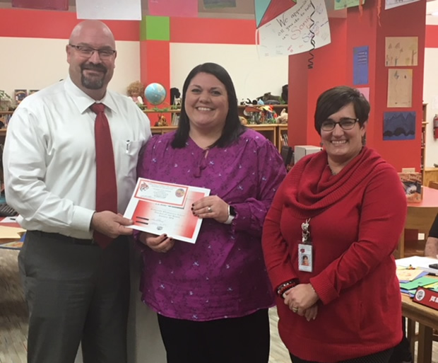 Leslie Williams, KES Employee of the Month January 2018