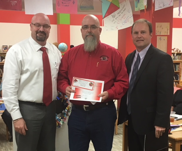 Les Gatewood, KHS Employee of the Month January 2018