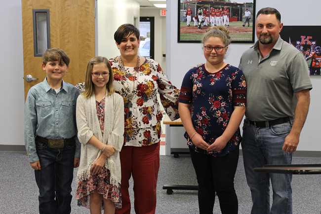 KES Students Presenting at April 2019 Board Meeting