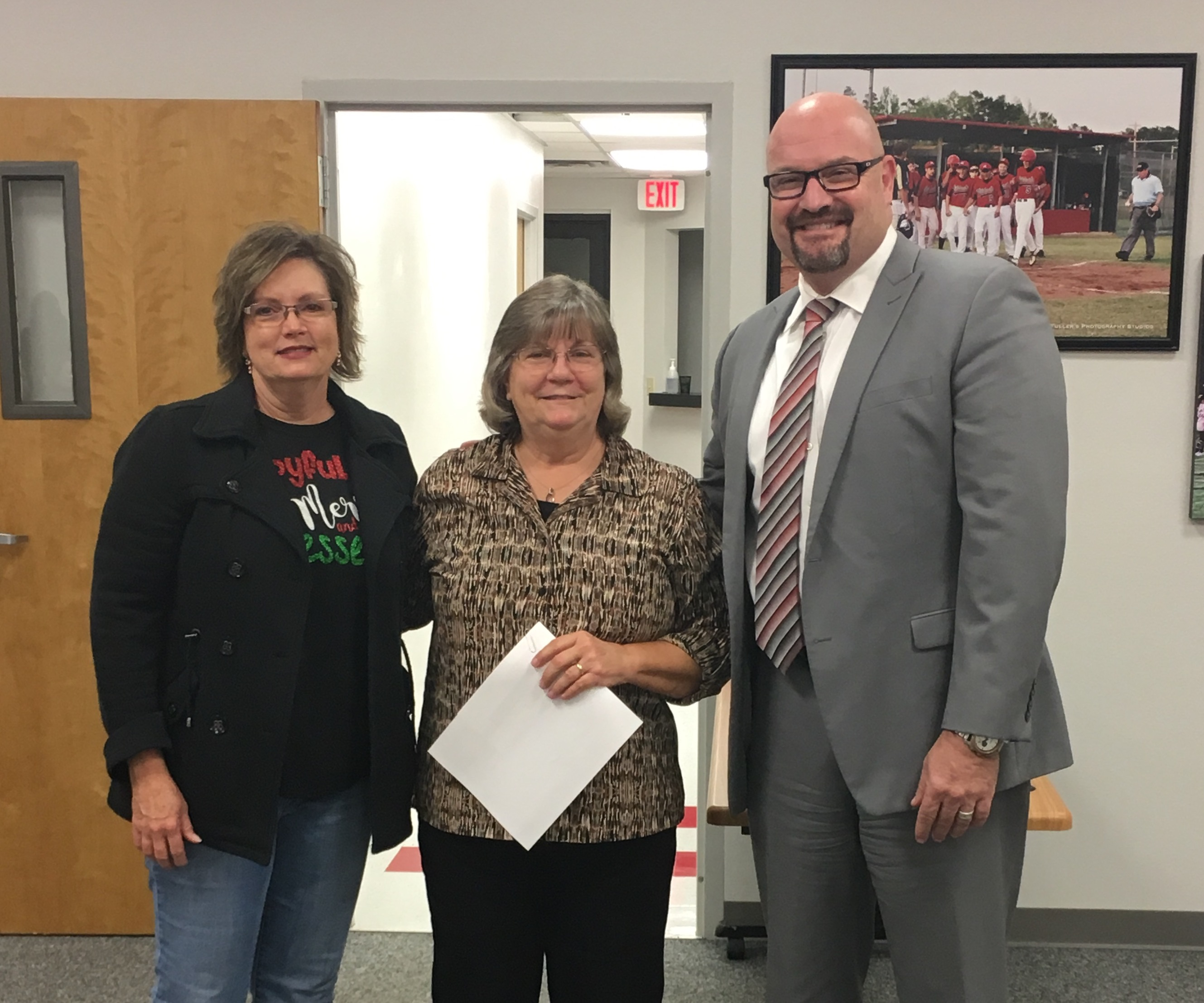 November 2017 Food Service Employee of the Month - Beth Smith