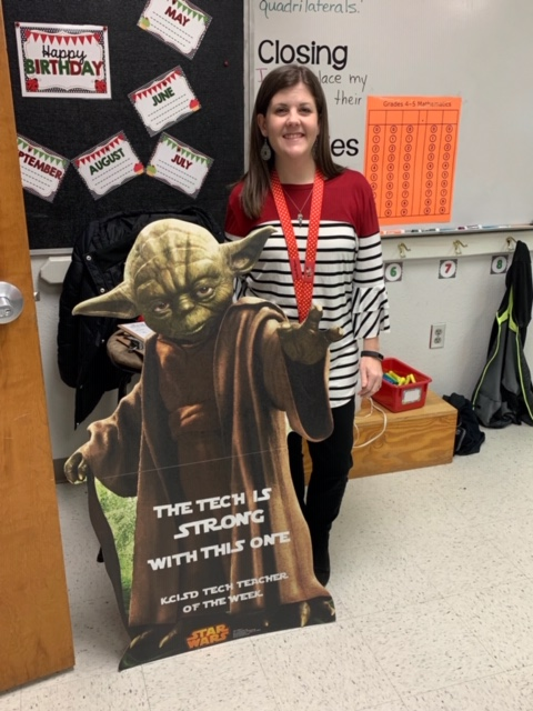 Lacey Thames Tech Teacher of the Week