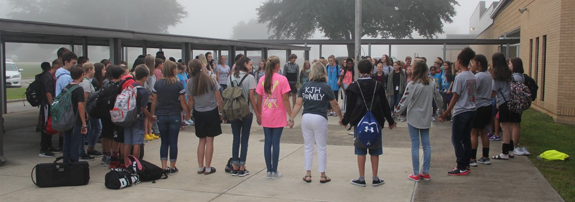 KJH Students leading at SYATP