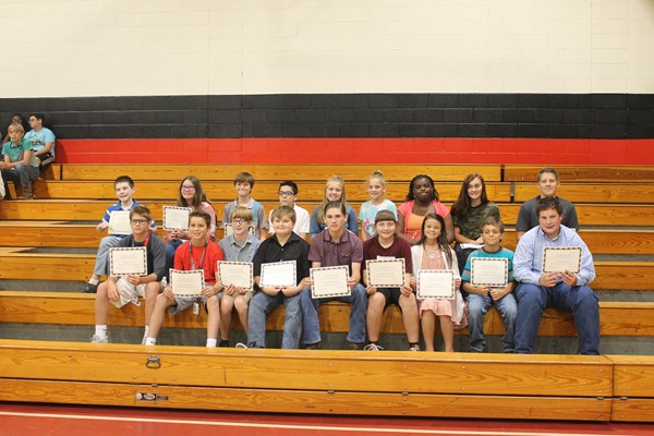 6th grade A/B Honor Roll