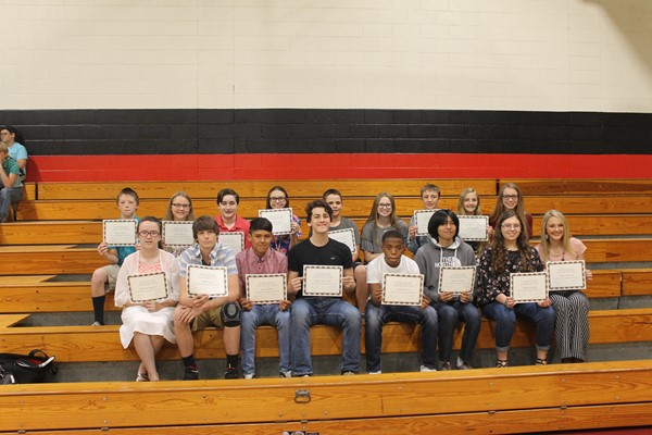 8th Grade A/B Honor Roll